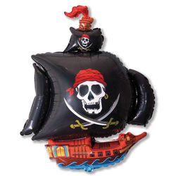 Balao-Metalizado-Flexmetal-Barco-Pirata