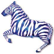Balao-Metalizado-Flexmetal-Zebra-Azul