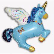 balao-metalizado-flexmetal-Unicornio-Magico-Azul
