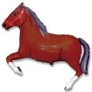 Balao-Metalizado-Flexmetal-Cavalo-Marrom-Dark