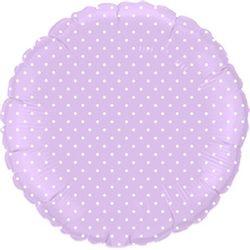 Balao-metalizado-redondo-lilas-bolinha-branca