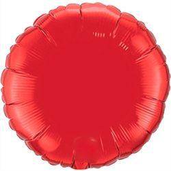Balao-metalizado-Flexmetal-Redondo-Vermelho