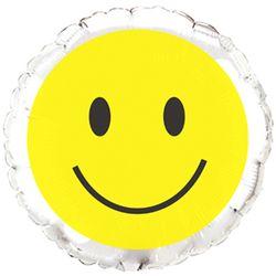 Balao-metalizado-Flexmetal-Smile-face-prata