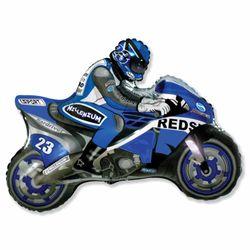 Balao-metalizado-Flexmetal-Moto-Racing-Azul