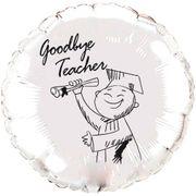 Balao-metalizado-Flexmetal-goodbye-teacher-prata