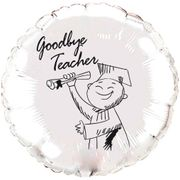 Balao-metalizado-Flexmetal-goodbye-teacher-prata