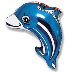 Balao-metalizado-Flexmetal-Golfinho-azul-HS