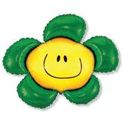 Balao-metalizado-Flexmetal-FLor-Smile-Verde