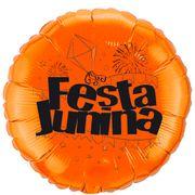 Balao-metalizado-Flexmetal-festa-junina-laranja