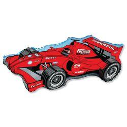 Balao-Metalizado-Flexmetal-Carro-Formula-Racer-Vermelho