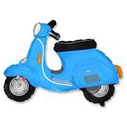 Balao-metalizado-scooter-azul-moto-motinho-motoca