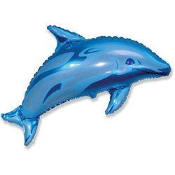 Balao-metalizado-Flexmetal-Golfinho-Azul