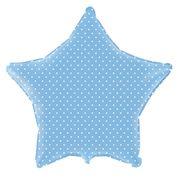 balao-metalizado-estrela-azul-baby-bolinhas-brancas