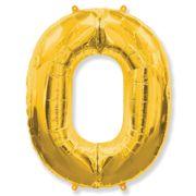 balao-metalizado-numero-0-Ouro-Flexmetal