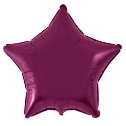 Estrela-burgundy