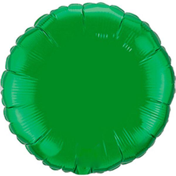 Balao-metalizado-Flexmetal-Redondo-Verde