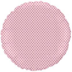 Balao-Metalizado-Flexmetal-Bolinha-Marrom-red-rosa-baby