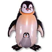 Balao-metalizado-Flexmetal-Pinguin-Preto