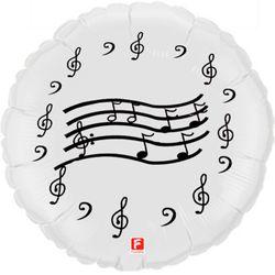 Balao-metalizado-Flexmetal-notas-musicais-branco