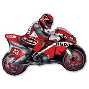 Balao-metalizado-Flexmetal-Moto-Racing-Vermelha