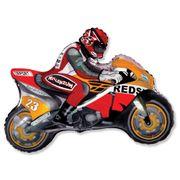 Balao-metalizado-Flexmetal-Moto-Racing-Laranja