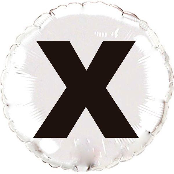 Balao-metalizado-Flexmetal-Letra-X-prata