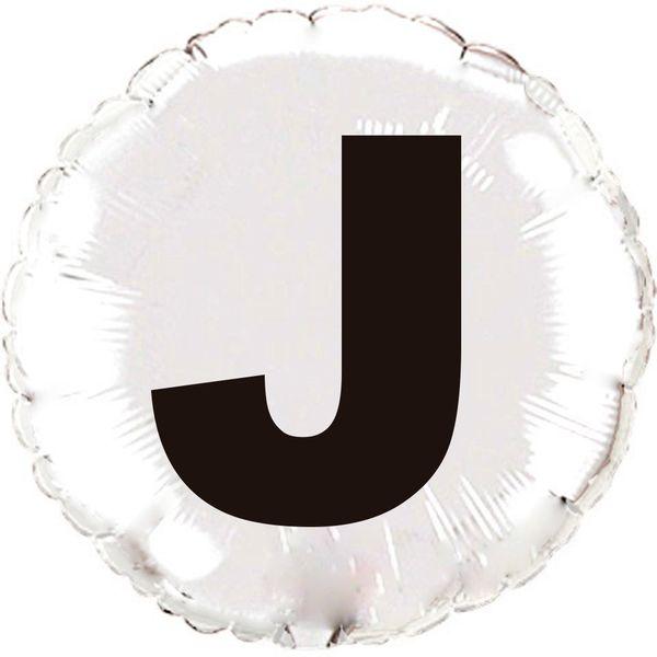 Balao-metalizado-Flexmetal-Letra-J-prata