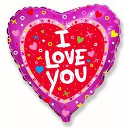 Balao-metalizado-Flexmetal-I-Love-you-Shine