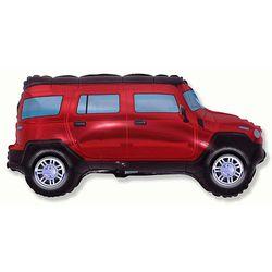 Balao-metalizado-Flexmetal-Hummer-Vermelho