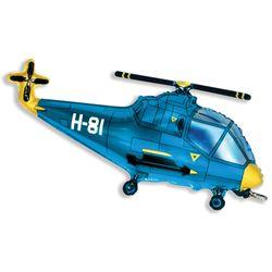 Balao-metalizado-Flexmetal-Helicoptero-Azul