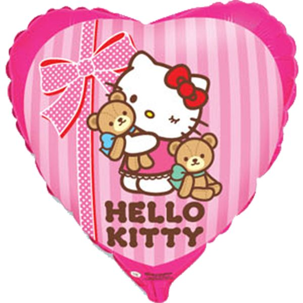 Balao-metalizado-Flexmetal-hello-kitty-amigos