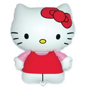 Balao-metalizado-Flexmetal-hello-kitty