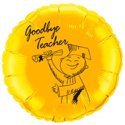 Balao-metalizado-Flexmetal-goodbye-teacher-ouro