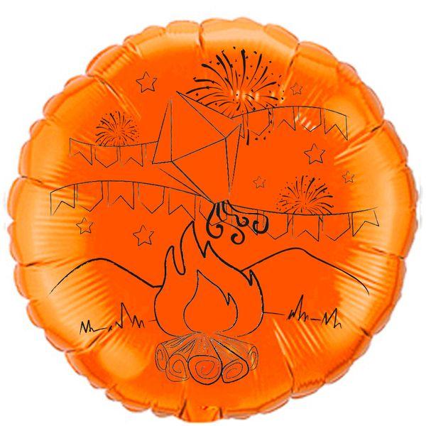Balao-metalizado-Flexmetal-fogueira-de-sao-joao-laranja