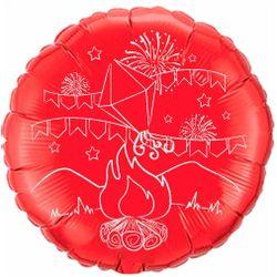 Balao-metalizado-Flexmetal-fogueira-de-sao-joao-vermelho