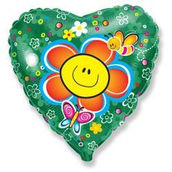 Balao-metalizado-Flexmetal-Flor-Smile-heart