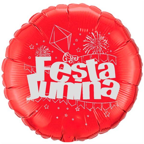 Balao-metalizado-Flexmetal-festa-junina-vermelho