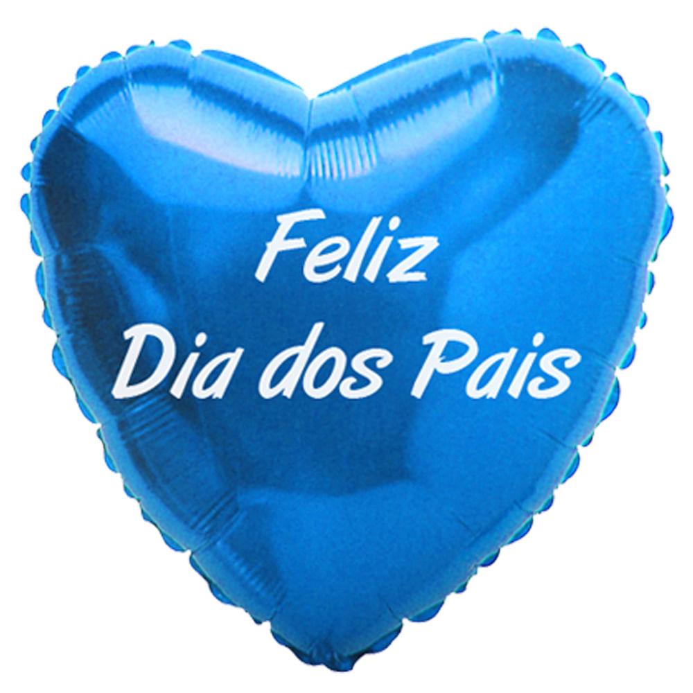 Balão Metalizado Feliz Dia Dos Pais Flexmetal Flexmetal