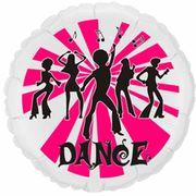Balao-Metalizado-Flexmetal-Dance-red-branco-pink