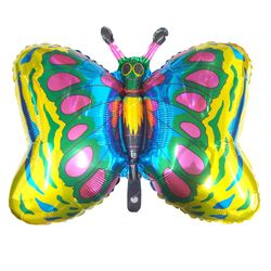 Balao-Metalizado-Flexmetal-borboleta-ouro