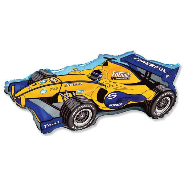 Balao-Metalizado-Flexmetal-Carro-Formula-Racer-Azul
