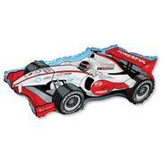Balao-Metalizado-Flexmetal-Carro-Formula-Racer-Prata
