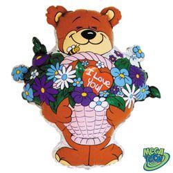 balao-metalizado-urso-cesta-flores
