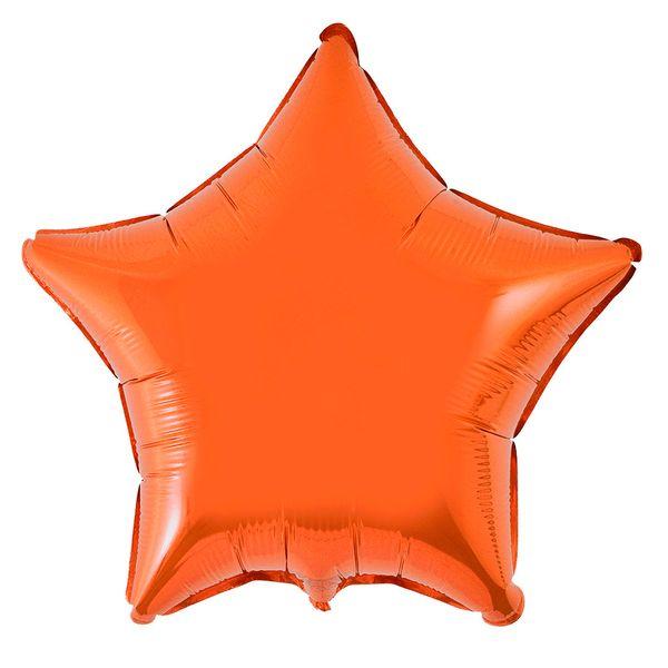 Estrela-laranja-lisa