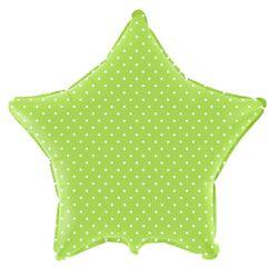 Estrela-Verde-Baby-bolinhas-Brancas