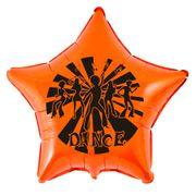 balao-metalizado-dance-estrela-laranja
