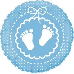 balao-metalizado-baby-feet-Azul-Baby