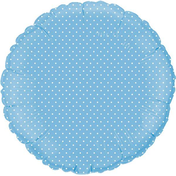 Bolinha-branca-Redondo-Azul