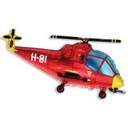 Balao-metalizado-Flexmetal-Helicoptero-Vermelho