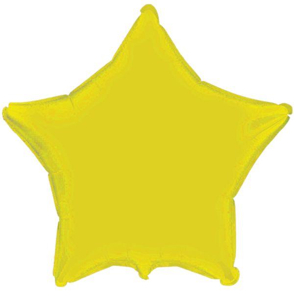 balao-metalizado-estrela-lisa-amarela